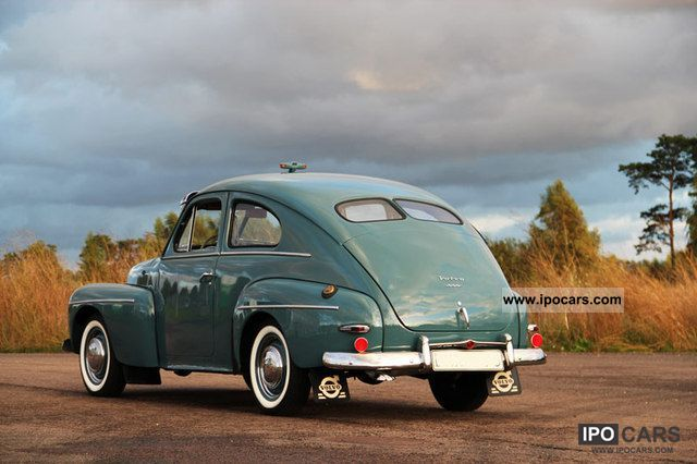 Volvo  DS PV 444 1952 Vintage, Classic and Old Cars photo