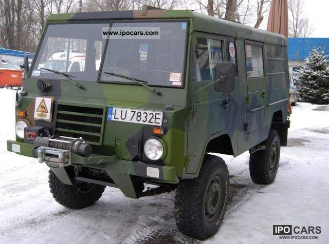 Volvo  Ex-Military 4x4 TGB 11 C303 zn aluminum TGB11 1975 Vintage, Classic and Old Cars photo