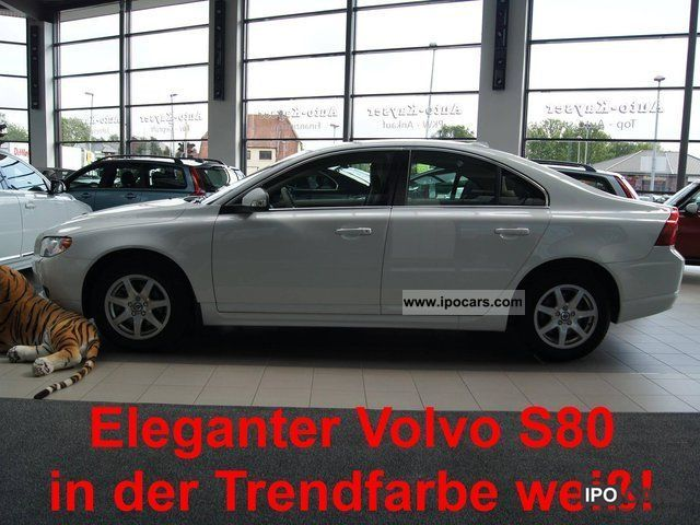 2009 Volvo  S80 2.0 D DPF Momentum + heater + PTS + SH Limousine Used vehicle photo