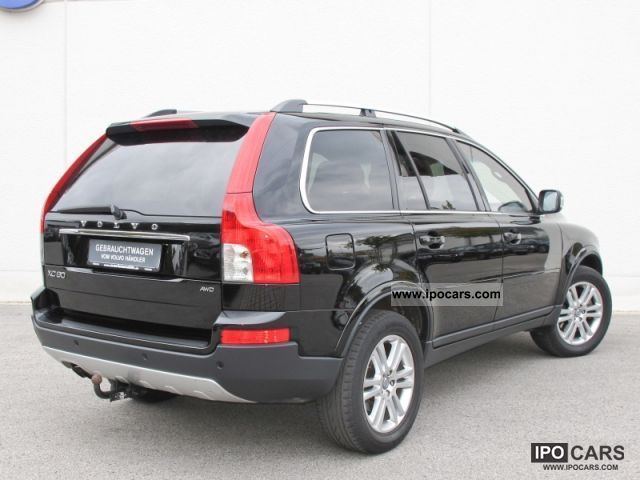 2008 Volvo XC90 D5 Summum DPF 7-seater (leather xenon) - Car Photo and Specs