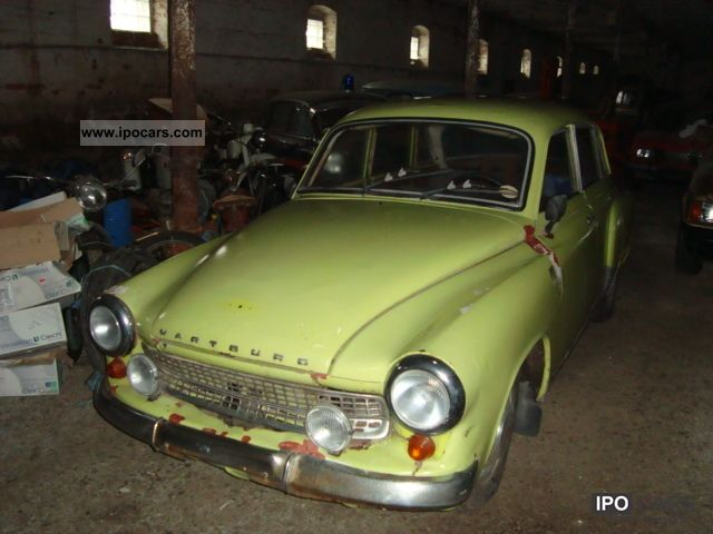 Wartburg  311 early registration! 1956 Vintage, Classic and Old Cars photo