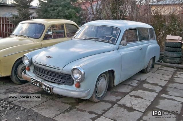 Wartburg  Held 1962 Vintage, Classic and Old Cars photo