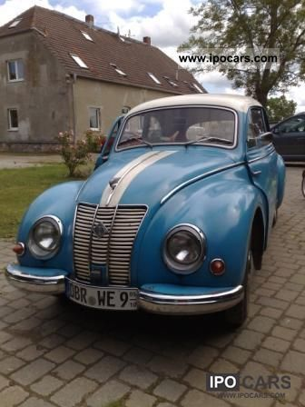 Wartburg  IFA F9 sedan 1957 Vintage, Classic and Old Cars photo
