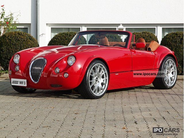 2007 Wiesmann  MF3 Roadster * switch * Red * Leather * Special Tax * Cabrio / roadster Used vehicle photo