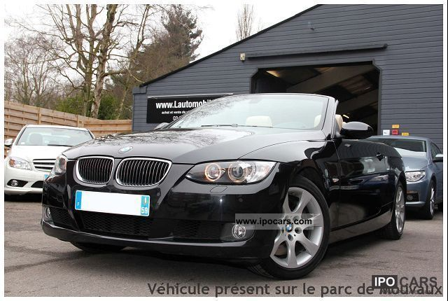 2007 BMW  SERIES 3 (E93) 330D COUPE 231 LUXE Cabrio / roadster Used vehicle photo