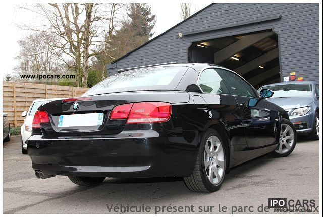 2007 bmw series 3 e93 330d coupe 231 luxe car photo and specs. Black Bedroom Furniture Sets. Home Design Ideas