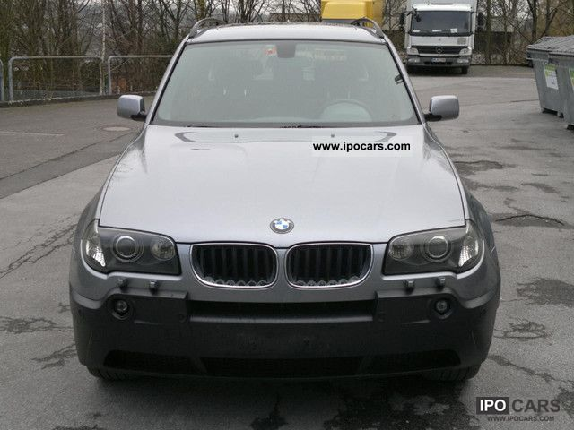 2004 bmw x3 klimaaut panoramic roof good condition car photo and specs. Black Bedroom Furniture Sets. Home Design Ideas