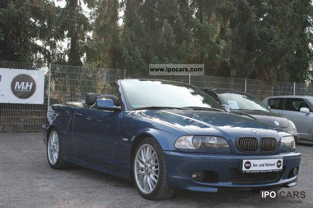 2002 bmw 320 ci convertible m leather package xenon ahk car photo and specs. Black Bedroom Furniture Sets. Home Design Ideas