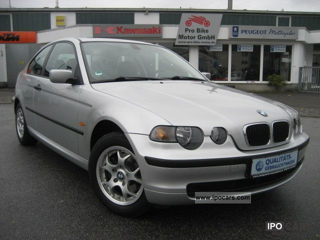 2003 BMW  316ti compact/ANGEBOT/1.Hand/Klimaanlage/GSD/PDC Limousine Used vehicle photo