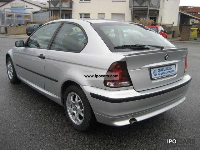 2003 BMW 316ti compactANGEBOT1HandKlimaanlageGSDPDC  Car