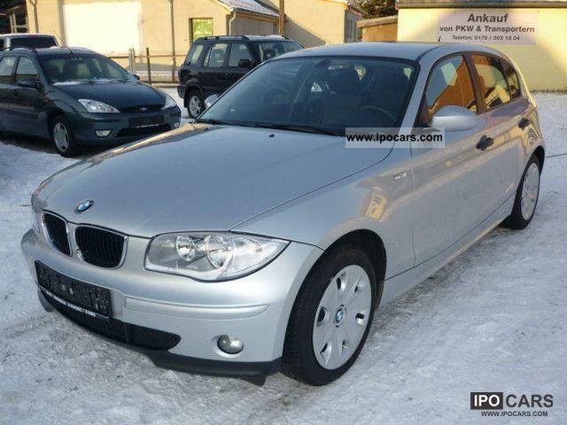 2006 BMW  116 i Limousine Used vehicle photo