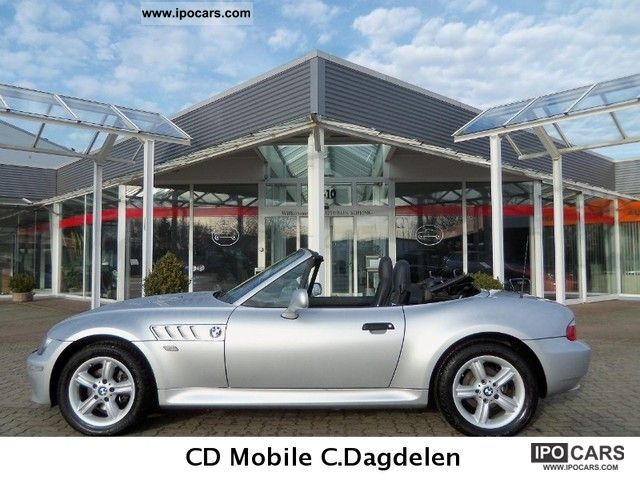 2000 Bmw Z3 Roadster 2 Hand U Frei Leder Scheckheft Car