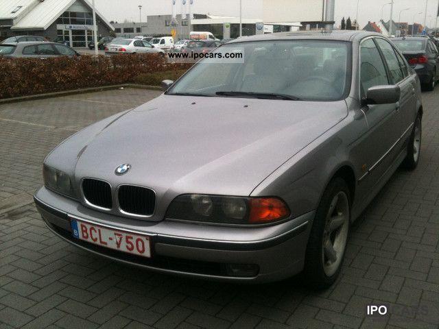 1997 BMW  525tds-leather-sunroof-climate control, aluminum Limousine Used vehicle photo