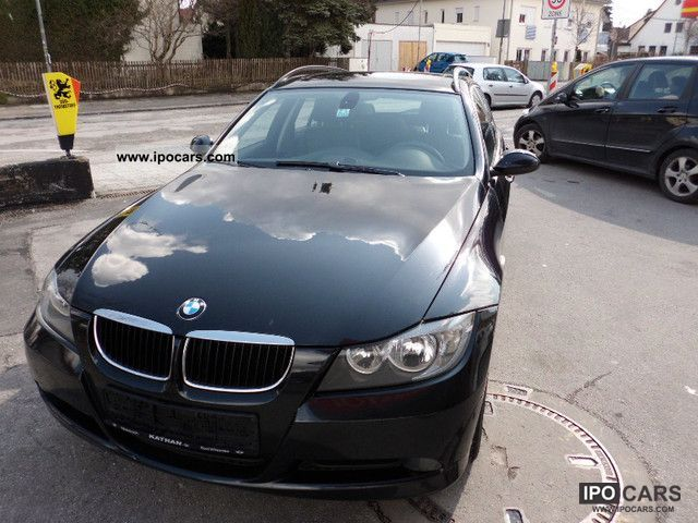 2007 bmw 320d touring dpf navi leather car photo and specs. Black Bedroom Furniture Sets. Home Design Ideas