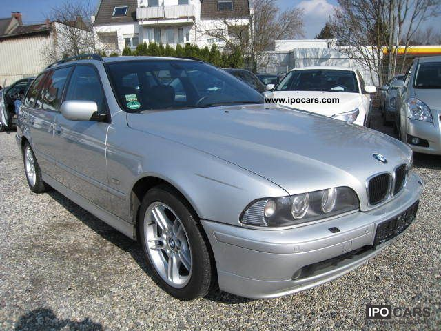 2002 BMW 525i Touring Edition  Car Photo and Specs