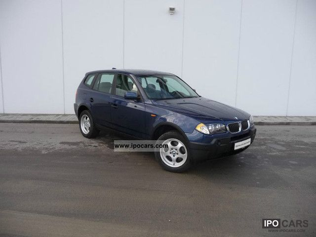 2006 BMW  X3 2.0i 1.Hand, 8-way aluminum, Climate control, PDC Off-road Vehicle/Pickup Truck Used vehicle photo