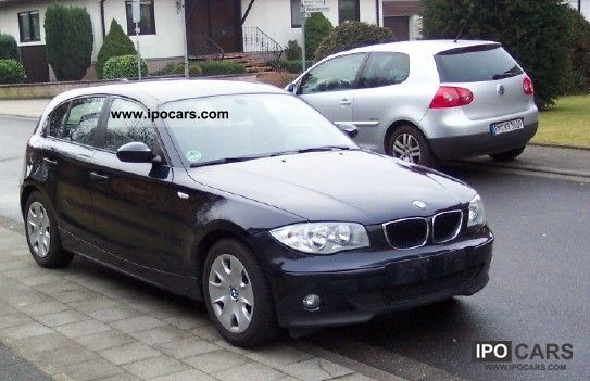 2005 BMW  116 leather, aluminum, 65000 km run Small Car Used vehicle photo