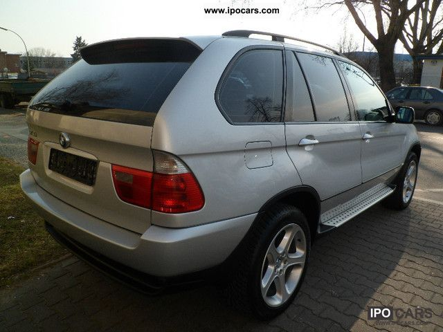 2002 Bmw X5 3 0d Sport Package Car Photo And Specs