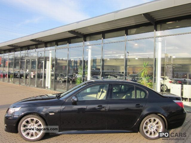 2008 BMW  525d Edition Sport + Topoptik checkbook Limousine Used vehicle photo
