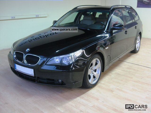 2004 bmw 530d touring car photo and specs. Black Bedroom Furniture Sets. Home Design Ideas