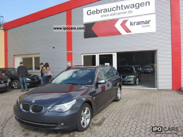 2008 BMW  525d xDrive Touring Aut. / Navigation system, leather / 12,750 EUR Estate Car Used vehicle photo