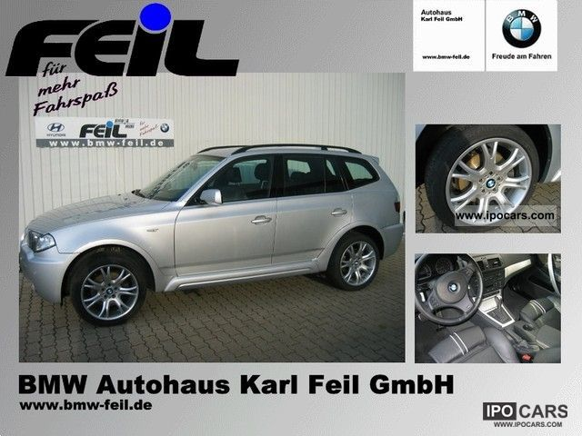 2006 BMW  X3 3.0d (M Sports Package Bluetooth APC Navi Xenon) Off-road Vehicle/Pickup Truck Used vehicle photo