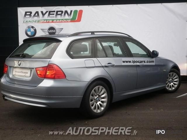 2008 bmw series 3 touring 318d 143ch confort car photo and specs. Black Bedroom Furniture Sets. Home Design Ideas