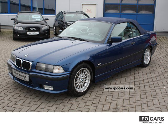 2000 bmw 320 i convertible m sport edition leather klimaaut car photo and specs. Black Bedroom Furniture Sets. Home Design Ideas