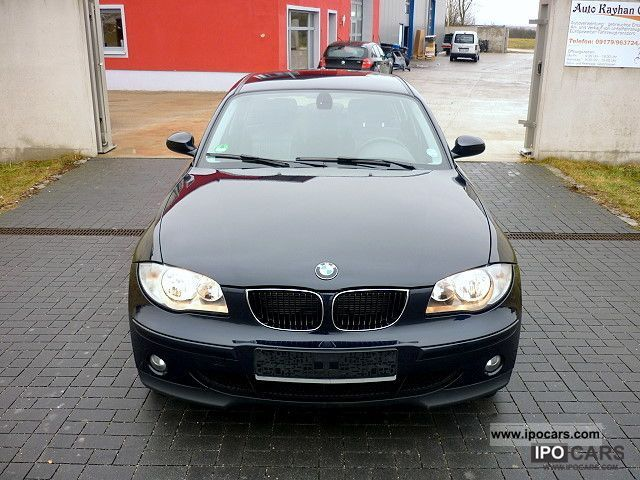 2006 BMW  118d DPF climate leather PDC first Hand TÜV NEW TOP Limousine Used vehicle photo