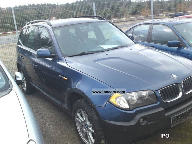 2004 BMW  X3 3.0d, automatic, leather, excellent condition Limousine Used vehicle photo
