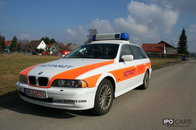 2004 BMW  525d Touring NEF First Responder ambulance. Estate Car Used vehicle photo