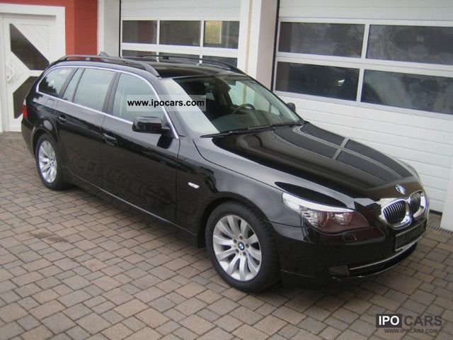 2007 BMW  525d Touring Aut. Navi Prof + Leather + Panoramic + PDC Estate Car Used vehicle photo