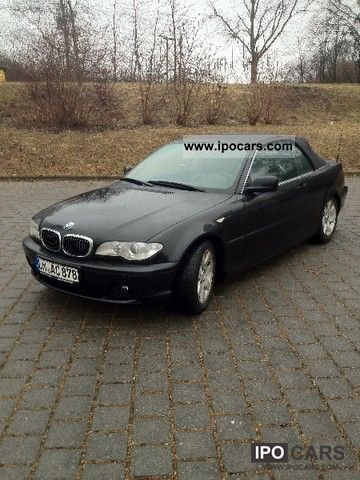 2003 bmw 320 ci car photo and specs. Black Bedroom Furniture Sets. Home Design Ideas