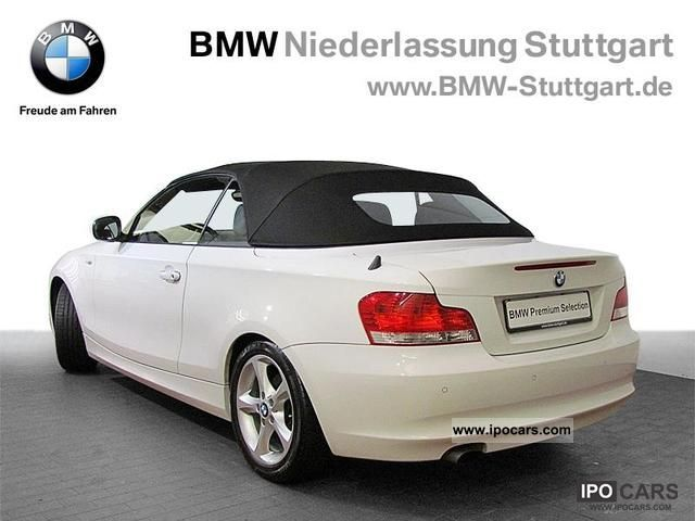 2009 bmw 120i convertible xenon hifi system usb heated car photo and specs. Black Bedroom Furniture Sets. Home Design Ideas