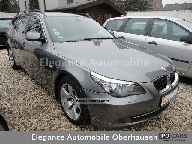 2008 BMW  525d Touring facelift head-up Xenon Vision Estate Car Used vehicle photo