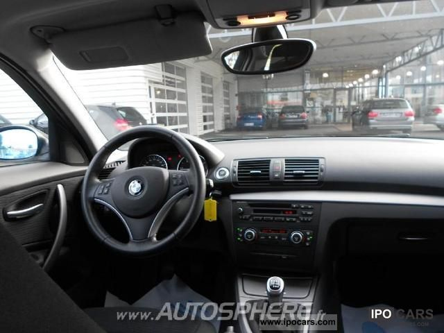 2008 bmw series 1 118d confort 5p car photo and specs. Black Bedroom Furniture Sets. Home Design Ideas