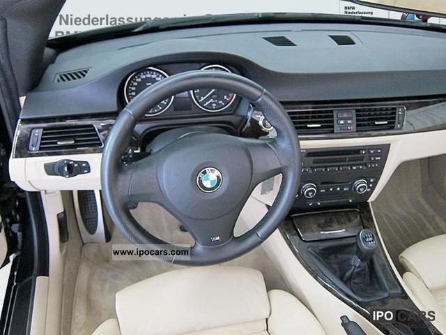 BMW I Convertible M Sports Package Car Photo And Specs - 2008 bmw 325