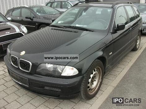2001 BMW 320i Touring Leather  Xenon  Navi  Car Photo and Specs