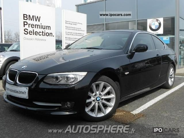 2010 bmw series 3 coupe 320d 184ch luxe car photo and specs. Black Bedroom Furniture Sets. Home Design Ideas