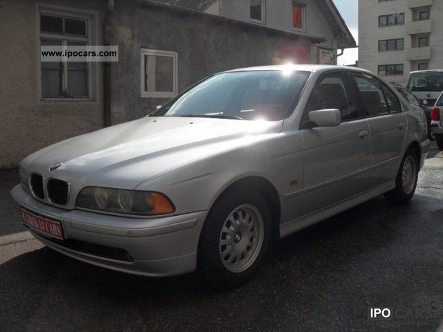 2001 bmw 520i euro 3 and d4 car photo and specs. Black Bedroom Furniture Sets. Home Design Ideas