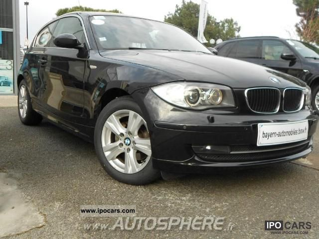 2008 bmw series 1 118d excellis 3p car photo and specs. Black Bedroom Furniture Sets. Home Design Ideas