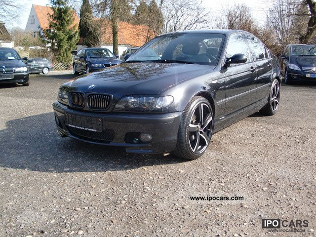 2002 bmw 320i m package car photo and specs. Black Bedroom Furniture Sets. Home Design Ideas