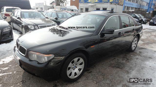 2004 BMW  730d NAVI EL.GSD PDC MFL EURO * 3 * I.HAND Limousine Used vehicle photo