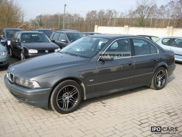 2003 bmw 525d exclusive edition fully equipped car photo and specs. Black Bedroom Furniture Sets. Home Design Ideas