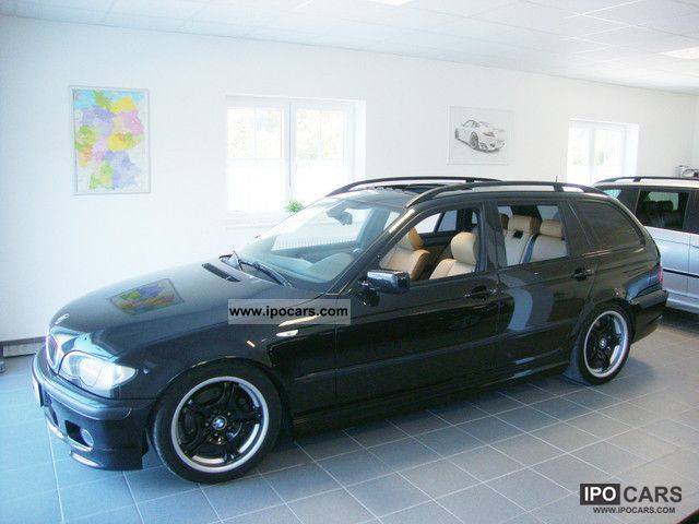 2005 BMW 320d Touring M-Sport Package II - full leather - SD - Car ...