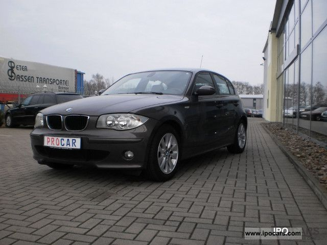 2006 bmw 120i aut leather car photo and specs. Black Bedroom Furniture Sets. Home Design Ideas