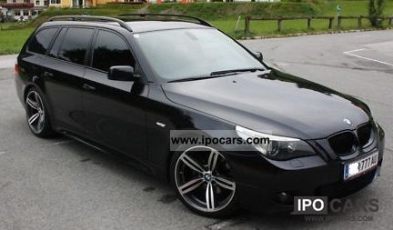 2005 bmw 530d touring car photo and specs. Black Bedroom Furniture Sets. Home Design Ideas