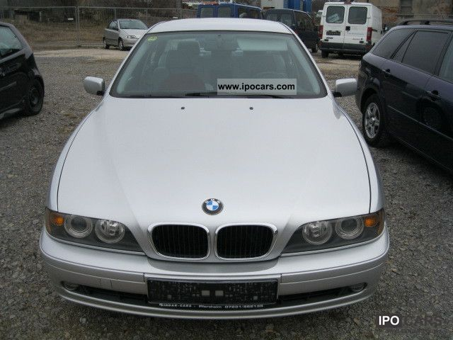 2001 Bmw 525d Car Photo And Specs