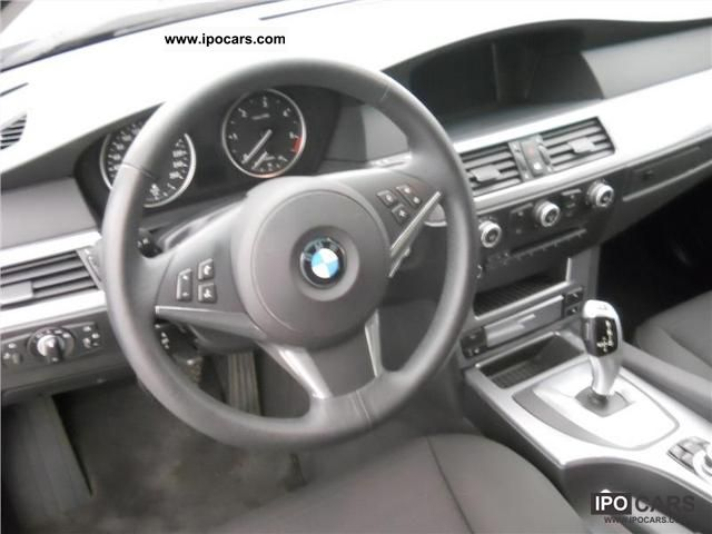2009 BMW 520d Touring Automatic Leather Steering Wheel Navigation ...
