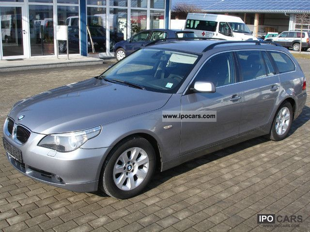 2006 Bmw 520d Touring Car Photo And Specs